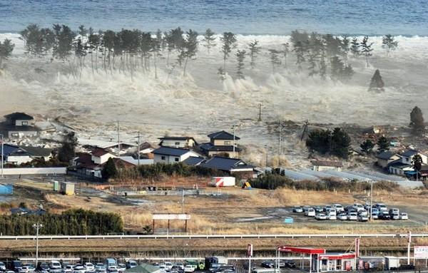contre quelques gouttes - un tsunami
