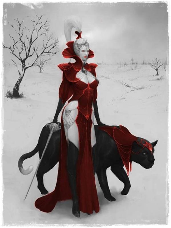 La reine de l'hiver chez tchounette
