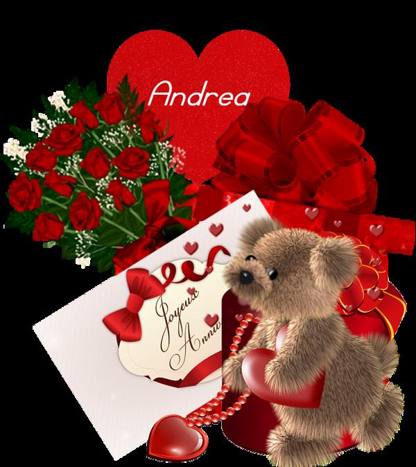 heureux anniversaire Andrea